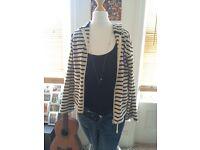Stripy hoodie - UK 8