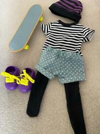 Our Generation That's How I Roll Skater Outfit