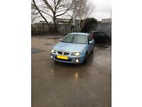 ROVER 25 54 plate 1.6 automatic petrol