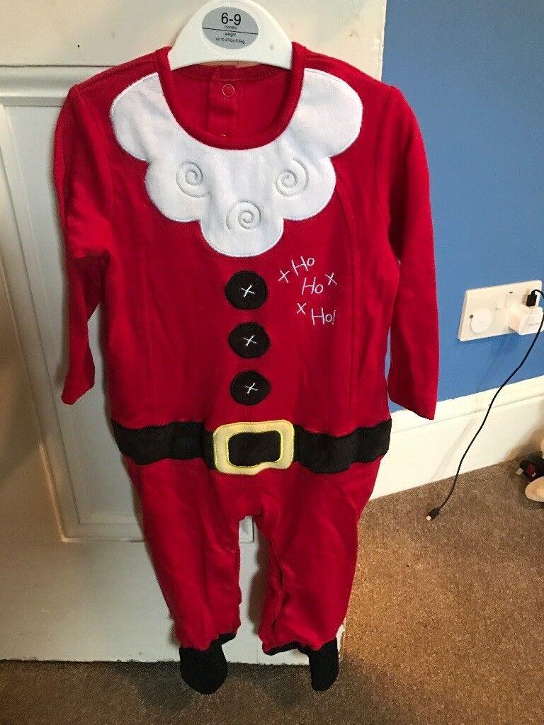 Baby Santa babygro