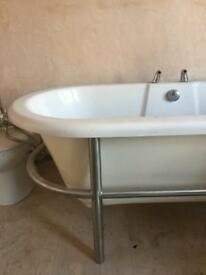 stand alone bath ,basin and toilet !