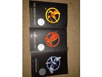 Hunger game book trilogy