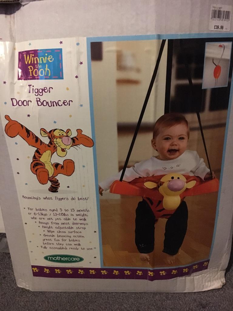 14e0e1abb Tigger Baby Door Bouncer
