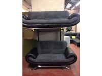 Great sofas for sale - grey fabric - excellent condition! New!