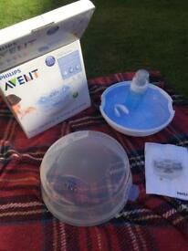 As New - Philips Avent sterilising at home kit