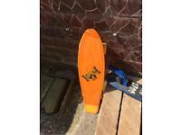 Boys skateboard