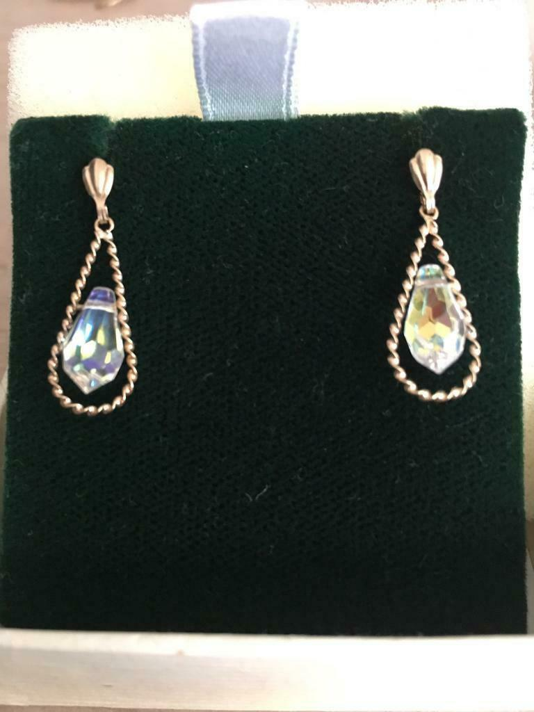 bc6bd32ad770e Beautiful 9 ct Gold Earrings | in Govan, Glasgow | Gumtree