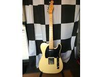 ''Voodoo Hexocaster'' fender tele style guitar