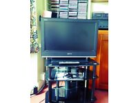 Sony Bravia 26in LCD TV With tablee