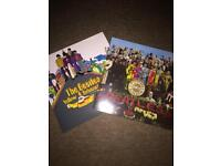 """The Beatles Vinyl Collection. ' 2 LPs. Edition 2 and Edition 7"""""""