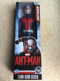Disney Marvel TITAN Hero Ant-man 30cm Figure Antman Hasbro