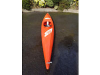 Europa Ace Plastic Kayak with Paddle & Spray Deck