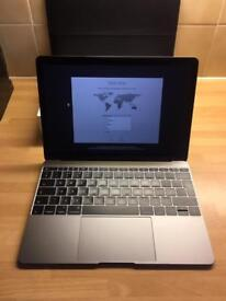 Apple MacBook space grey with AppleCare