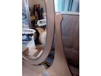 Ikea mirror silver