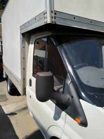 Transit Luton van with tail lift 2.5