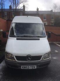 Mercedes van for sale