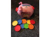 Unisex piggy bank toy