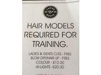 Hair models needed for Aveda salon Ward & Cross