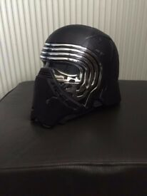 STAR WARS Kylo Ren Voice Change Helmet Black Edition
