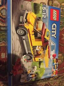 Lego city pizza delivery truck new