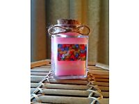 small 4 oz Bubblegum scented candle by Heaven Senses