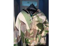 Billabong men's x large ski jacket, excellent condition hardly worn