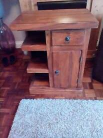 Wooden rustic contemporary unit fits in any room 30ins.x24ins.x16ins.