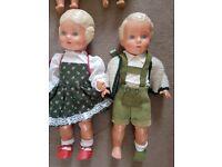 vintage composite dolls