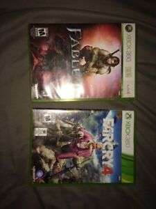 Fable 2 and far cry 4