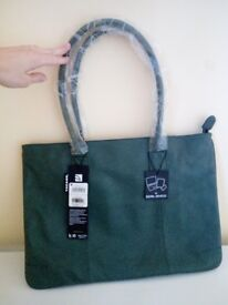 TUCANO - Green leather Laptop bag NEW!!!!