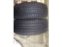 Tyres 205 50 17 very good condition