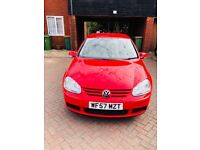 Volkswagen Golf 1.6 FSI Match 5dr#FULL SERVICE HISTORY#AC# 6 GEARS # RED HOT LOOK# DRIVE SUPERB