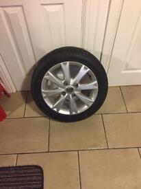 Ford 15 inch 8 spoke alloy wheel