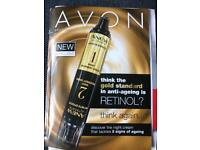 Avon products with Suzy