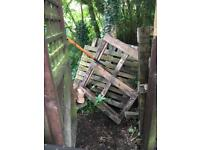 Timber/crates - free to collector