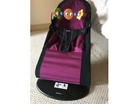 BabyBjorn bouncer with attachable toys - excellent condition!