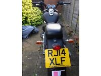 KEEWAY Superlight 125, 2014, Black, with MOT and full service.