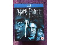 Harry Potter blurays complete set