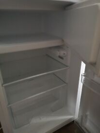 Bush Fridge with small freezer compartment under counter