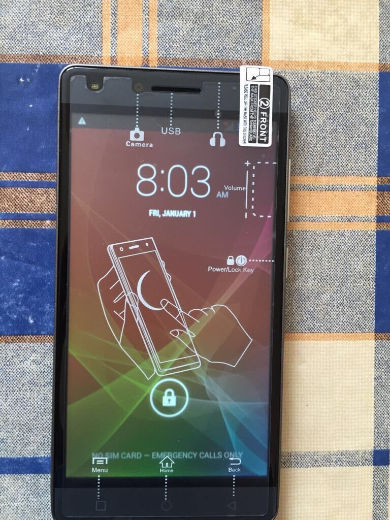 """Smartphone 5"""" Unlocked Dual Sim Brand Newin Shenley Church End, BuckinghamshireGumtree - Brand new unlocked 5"""" screen dual sim smartphone , android systemPurchased for work abroad but been given a work handset, just been opened to take photos Has charger plug, cable and case in the box4 G handsetWill consider very near offerGenuine..."""
