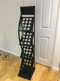 Magazine rack, ideal for office space or salon
