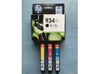 Genuine HP High Capacity 4 Colour (HP934XL/HP935XL) Ink Cartridges