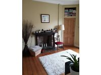 One bedroom top floor flat, Restalrig Road South, available 18th April