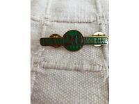 Railway book Club Pin Badge