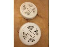 Free smoke detectors x 2
