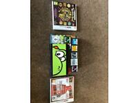 Nintendo New 3DS console with 8 games