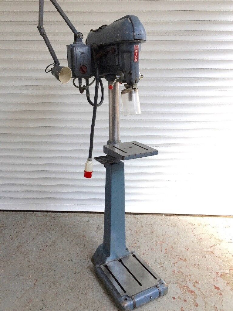 Boxford Union 3 Phase Floor Standing Pillar Drill