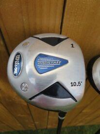 Wilson Pro Staff Golf Clubs