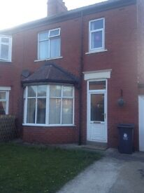 3 bed semi detached house for rent in Whitley Bay.