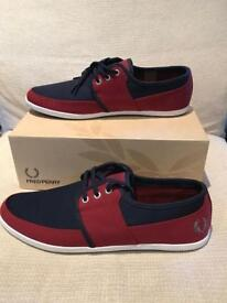 Size 11 brand new Fred Perry Dap trainers